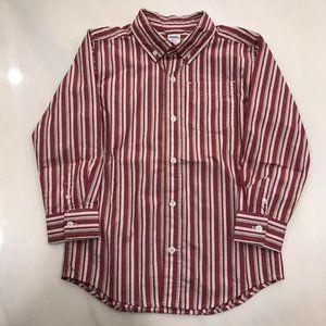 Button Down Boys Shirt - Size S (5-6)